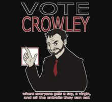Vote Crowley by cyaxares