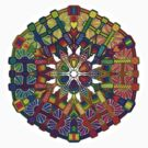 Mechanical Petal Rainbow Mandala by mandala-jim