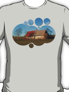 Old abandoned farmhouse | architectural photography T-Shirt