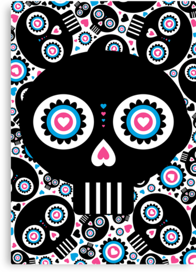 Mexican 'Day of the Dead' Skull Pattern by MurphyCreative