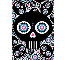 Mexican 'Day of the Dead' Skull Pattern Photographic Print
