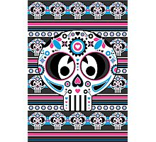 Mexican 'Day of the Dead' Skull Photographic Print