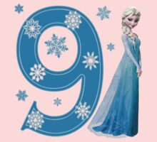 Disney Frozen Elsa 9th Birthday by sweetsisters