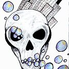 bubble city skull by Perggals© - Stacey Turner
