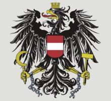 Coat of Arms of Austria by cadellin