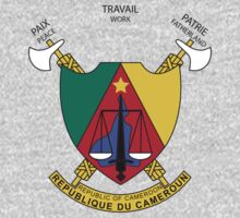 Coat of Arms of Cameroon by cadellin