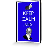 Keep Calm and Don Cherry Greeting Card