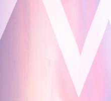Vampire Weekend // Pastel Sticker