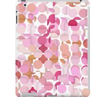 Multi Layer Pink Polka Dot iPad Case/Skin