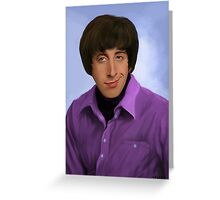 Wolowitz Greeting Card