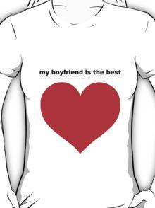 best boyfriend T-Shirt