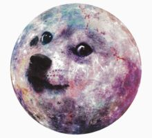 Dogecoin to the Moon - Coloured by Bocaci