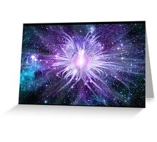 Cosmic Heart of the Universe Greeting Card