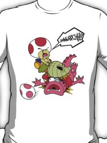Toad's Vegetable Fury! T-Shirt