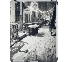 Winter Night - East Village - New York City iPad Case/Skin