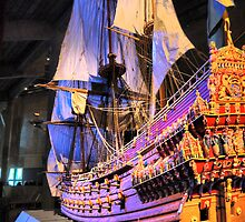 "The Vasa""  ( 4 ) A Scale Model by Larry Lingard/Davis"