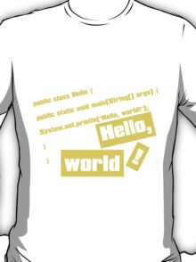 Hello, World! T-Shirt