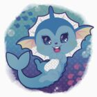 Vaporeon by cutegalaxy