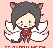 Ahri: League of Valentines by Jaunea