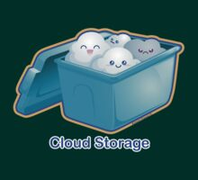Cute Cloud Storage by kimchikawaii