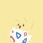 Togepi Vector Flood Graphic by Aaron Pacey