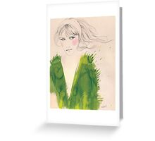 green wednesday Greeting Card