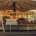 Lonely Winter Carousel by JenniferLouise