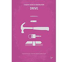 No258 My DRIVE minimal movie poster Photographic Print
