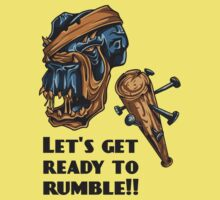 Lets get ready to rumble - Vector Design by xanthos84