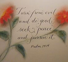 """Seek Peace"" by Melissa Goza"