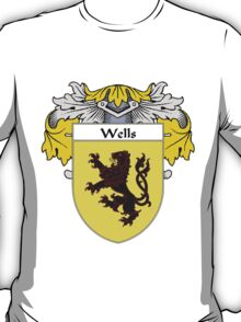 Wells Coat of Arms / Wells Family Crest T-Shirt