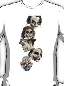 Many Faces of The Joker T-Shirt