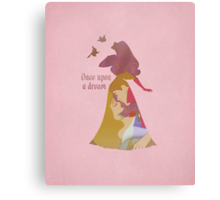 Once Upon A Dream - Disney Inspired Canvas Print