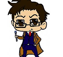 Chibi Tenth Doctor by ten-ten-tennant