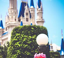 Magic Kingdom in the Spring by dkelly1126