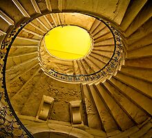 Spiral staircase by Violaman