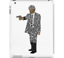 Jules from Pulp Fiction Typography Quote Design iPad Case/Skin