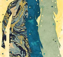 Shadows from burning Man #5 by Joyce Ann Burton-Sousa
