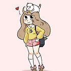 Bee and Puppycat by ArtisticCole