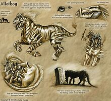 Bestiary: Allothog by Thedragonofdoom
