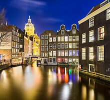 Amsterdam at Night by Michael Abid