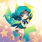 Chibi Super Sailor Neptune by MakoFufu