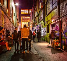 Cherry Bar in ACDC Lane by melbournedesign