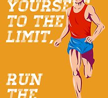 Marathon Push to the Limit Poster by patrimonio