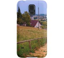 Stairway to the village center | landscape photography Samsung Galaxy Case/Skin