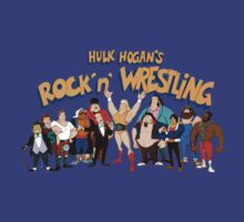 Hulk Hogan Rock n' Wrestle WWF by icwkev