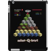 Mine Qbert iPad Case/Skin