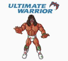 Ultimate Warrior WWF Hasbro by icwkev