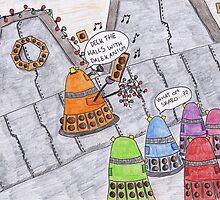 Deck the halls with Dalekanium by keepcalm98