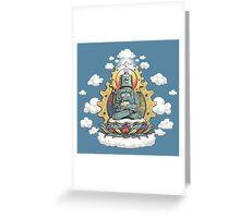 Buddha Bot v6 Greeting Card